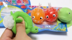 1 Dollar Store Goldfish and Turtle Orbeez Squeeze Toys