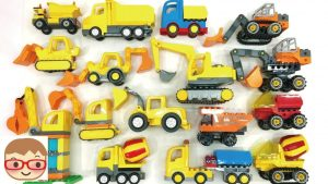 Excavator Videos for Children | Diggers for Kids | Lorry Truck Toys