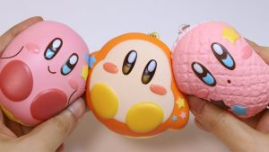 Kirby and Waddle Dee Donut Soft Squishy Toys
