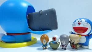 GeGeGe no Kitaro go into Spo Spo Doraemon and transforms!for kids!yupyon