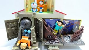 Doraemon go into the Nobita's desk Spo Spo!Go era of dinosaurs and ancient ruins!for kids!yupyon