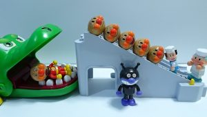 Jam Ojisan and Batako send a new face of Anpanman more and more by escalate!for kids!yupyon
