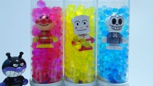 Anpanman pop out Spon Spon from Orbeez Crush Sweet Treats Studio!for kids!yupyon