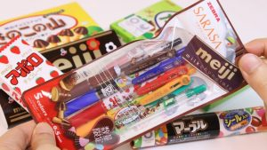 Candy changed to Ballpoint pen Meiji Candy Pen Stationery