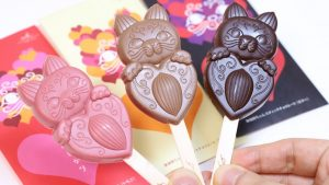 Cat Lollipop Chocolate