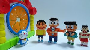 Doraemon go into the Spo Spo BOX!Doraemon,Nobita,Gian wrong face!for kids!yupyon