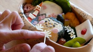 Japanese Food - CUTEST LUNCH BOX IN THE WORLD! Tomomi Maruo Bento Tokyo Japan