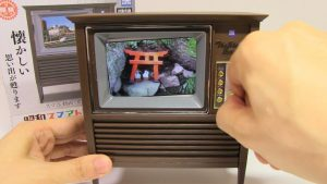 Retro TV Showa Smart Television Miniature TV