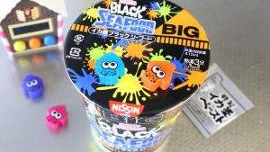 Splatoon Ramen Noodles!? Squid Ink Cup Noodles