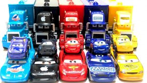 Disney Cars3 Mini Lightning McQueen - Mack & Friends toy Learn Colors and Numbers for kids