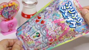 Star Twinkle Precure DIY Candy Furi Furi Shake and Candy Machine