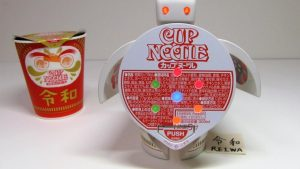 Happy New Era! Reiwa Cup Noodles with Cup Noodles Robot Timer