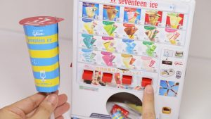 DIY 17 Ice Popsicle Vending Machine Paper Craft