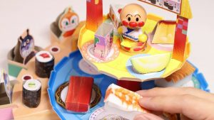 DIY Conveyor Belt Sushi Anpanman Paper Craft