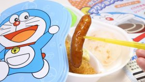 Doraemon Bento Hotto Motto Box Lunch & Dorayaki Shoot Paper Craft