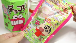 Crayon Shinchan Chocobi na Dessert DIY Candy Drink