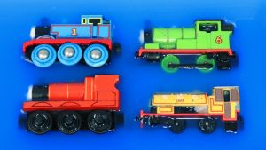 Learn Colors & Numbers with Thomas and Friends Trains Toy - Disney Cars McQueen into the Water