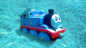 Found Thomas and Friends Trains Toy in the River - Learn Colors & Numbers for Children