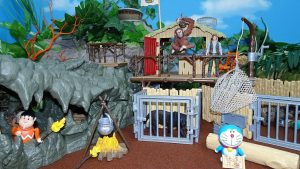Doraemon came in the jungle!Schleich Croco Jungle Research Station!yupyon