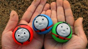 Thomas and Friends Toys Rail Rollers - Thomas, Percy & James Trains for Children